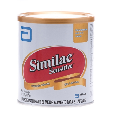 Similac Fórmula Sensitive Sin Lactosa 375 g