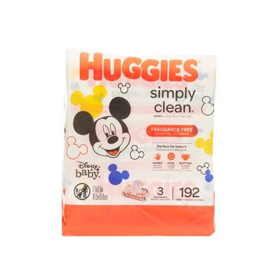 Huggies Pañitos Húmedos Refill  Simply Clean 192 und