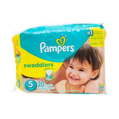 Pamper's Pañal Desechable Swaddlers Talla 5