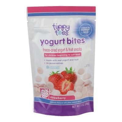 Tippy Toes Yogurt Bites Strawberry 1 oz