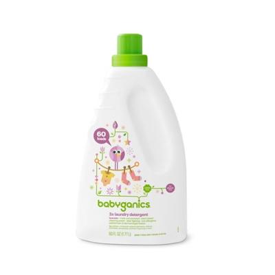 Babyganics Detergente Líquido Lavanda 60 oz