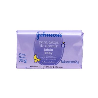 Johnson's Baby Jabón en Barra para Antes de Dormir 75 g