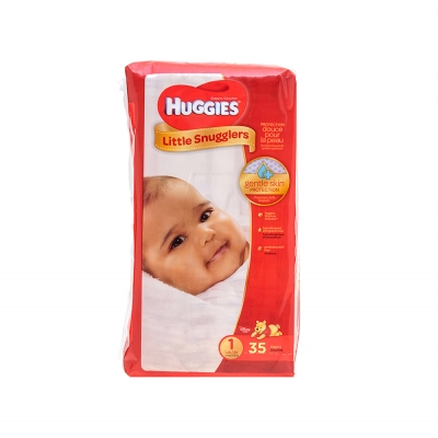 Huggies Pañal Desechable Little Snugglers Talla 1