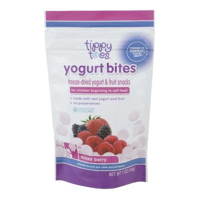 Tippy Toes Yogurt Bites Mixed Berry 1 oz