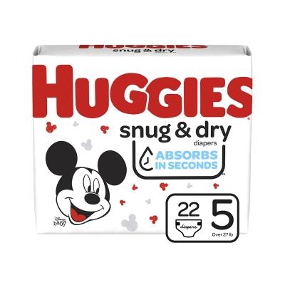 Huggies Pañal Desechable Snug & Dry Talla 5