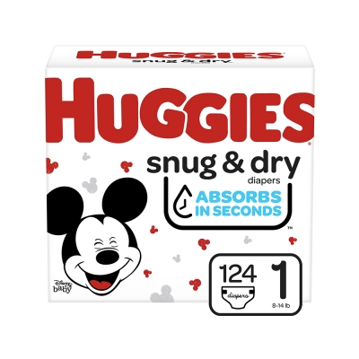 Huggies Pañal Desechable Snug & Dry Talla 1