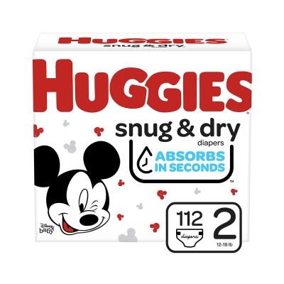Huggies Pañal Desechable Snug & Dry Talla 2