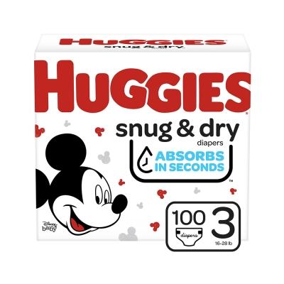 Huggies Pañal Desechabble Snug & Dry Talla 3