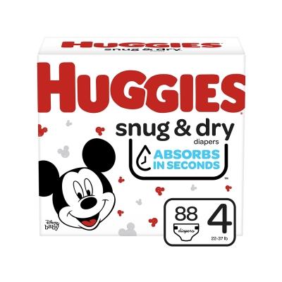 Huggies Pañal Desechable Snug & Dry Talla 4