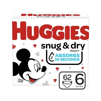 Huggies Pañal Desechable Snug & Dry Talla 6