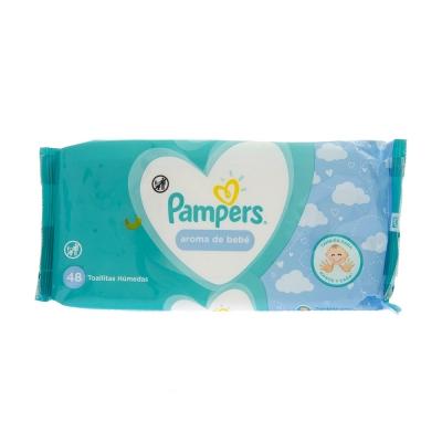 Pamper's Toallitas Húmedas Aroma Bebé 48 und