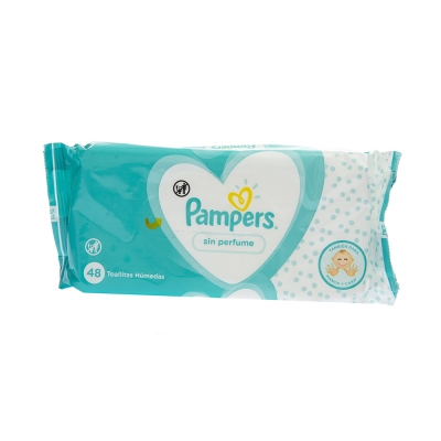 Pamper's Pañitos Húmedos Sin Fragancia 48 und