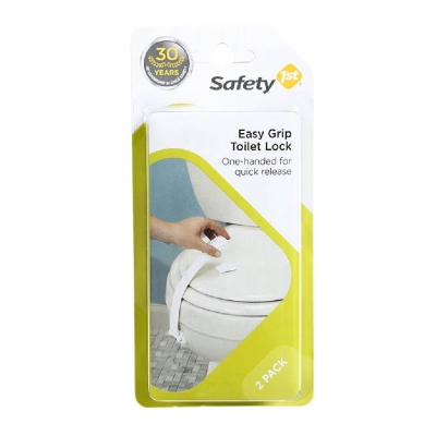 Safety 1st Set 2 Seguros para Tapa de Inodoro