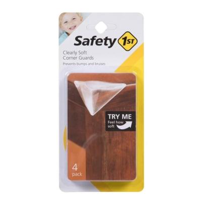 Safety 1st Set 4 Protectores de Esquina Transparente