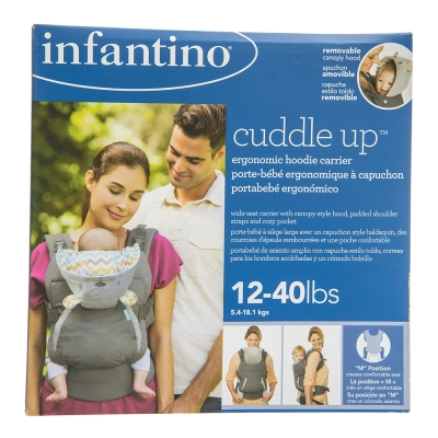 Infantino Canguro Ergonómico Cuddle Up