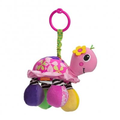 Infantino Entretenedor de Tortuga con Espejo Rosa