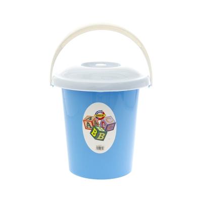 Duralon Cubeta con Tapa Azul 12 L