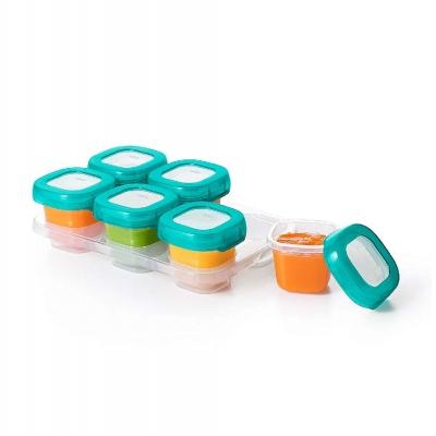 Oxo Tot Set 6 Envases para Alimentos Teal