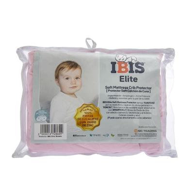 IBIS Elite Protector para Colchón de Cuna Rosa