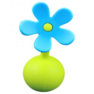 Haaka Tapón para Recolector de Leche Flor Azul