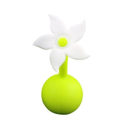 Haaka Tapón para Recolector de Leche Flor Blanca