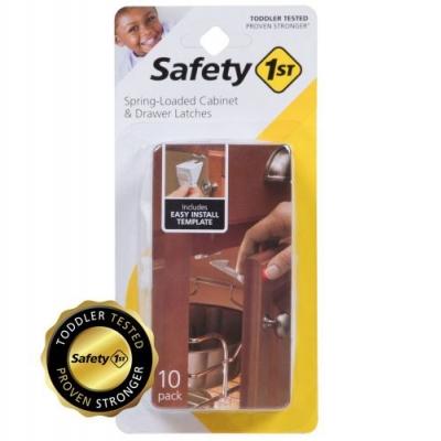 Safety 1st Seguro para Cajones 10 pza