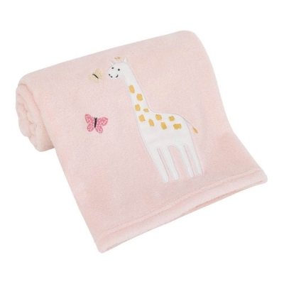 Carter's Frazada Pretty Pink Giraff