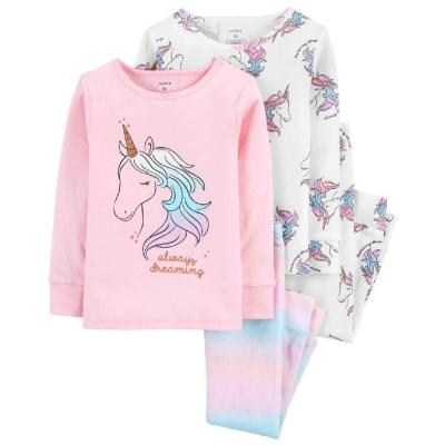 Carter's Set 2 Pijamas Unicornios