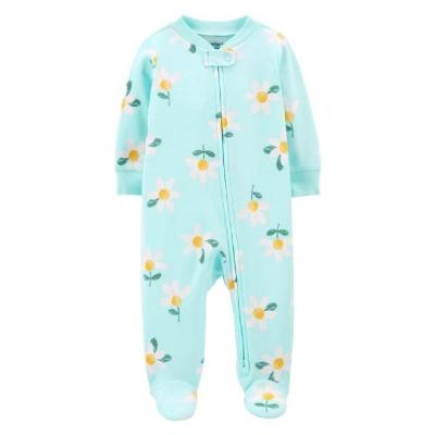 Carter's Pijama con Pies Turquesa
