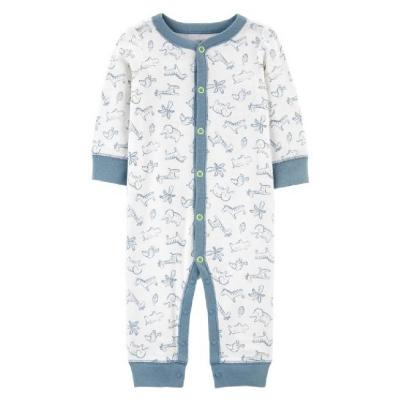 Carter's Pijama Estampada Azul
