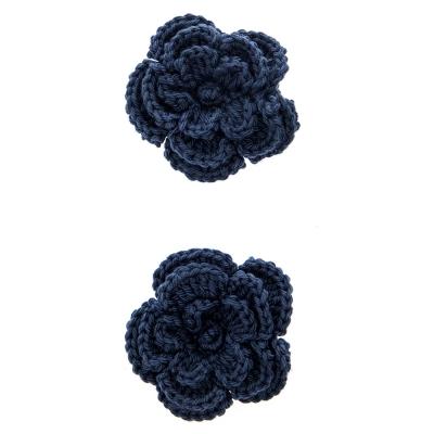Emma Set de 2 Pinzas con Flor Grande