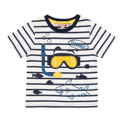 Boboli Camiseta a Rayas Buceo