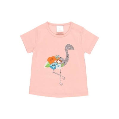 Boboli Camiseta Flamingo Rosada
