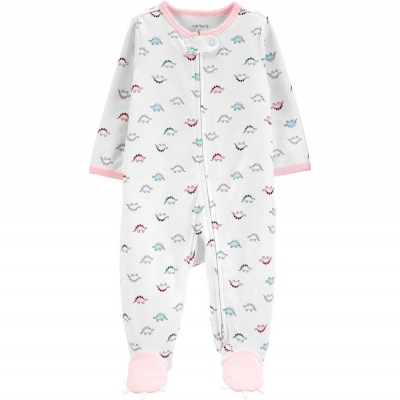 Carter's Pijama con Pies Dinosaurio